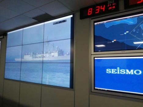 """Participación de la Armada en el proyecto europeo """"Ocean 2020"""" de conocimiento del entorno marítimo avanzado"""