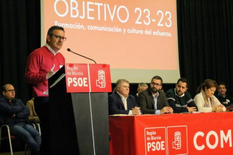 """Diego Conesa: """"El PSOE se prepara para 2023: formación, comunicación y cultura del esfuerzo"""""""