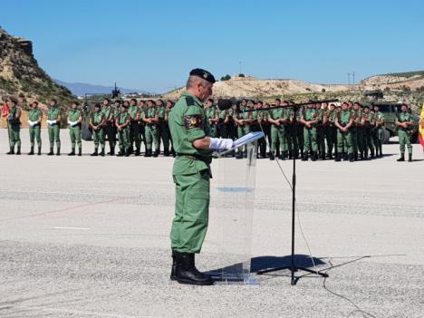 """Los Paracaidistas del Regimiento """"Zaragoza"""" 5 de Santa Bárbara, que cuentan en su haber con 10 Cruces Rojas, celebran el LXVI aniversario de la creación de esta unidad del Ejército de Tierra"""