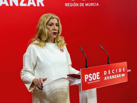 """Gloria Alarcón: """"En el PSOE estamos convencidas de que sin feminismo, no hay democracia"""""""
