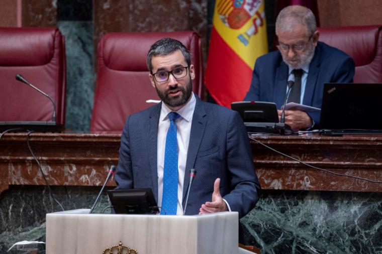"""Lucas: """"Ciudadanos es cómplice directo de la falta de escrúpulos y los trapicheos de López Miras y su Gobierno"""""""