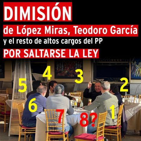'¡La cúpula del P.P murciano pillados in fraganti !', por Fulgencio López Sierra