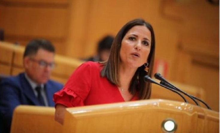 Inés Plaza una de las senadoras más activas pide darle la voz a la militancia en esta ola imparable hacia las primarias en Andalucía