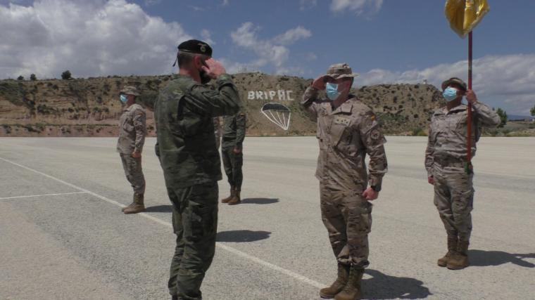 """La Tercera Bandera """"Ortiz de Zárate"""" del Regimiento """"Zaragoza 5"""" de Paracaidistas con base en el Acuartelamiento murciano de """"Santa Bárbara"""" participará en la NATO MISSION IRAK (NMI)"""