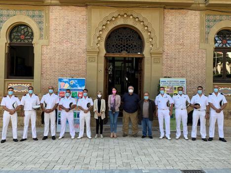 El Equipo Operativo de Buceo de la Armada liderado por el TN Ignacio Zaragoza realiza labores de localización e identificación de restos arqueológicos sumergidos en la costa aguileña