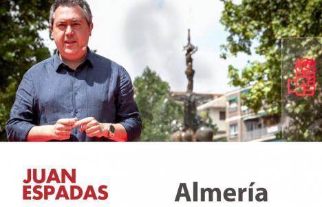 EDITORIAL: Juan Espadas llega a Almería dispuesto a unir para recuperar el Gobierno de Andalucía que Susana Díaz perdió