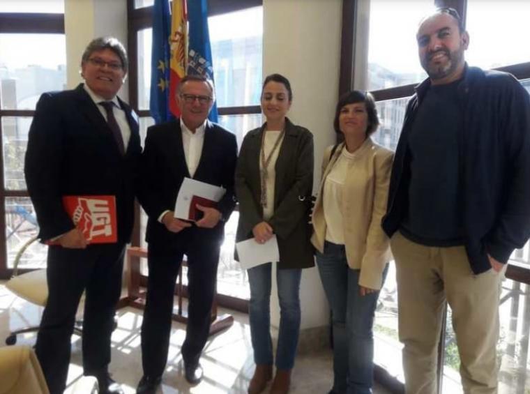 Abderra y Mimón lideres de UGT-FICA sitúan a Melilla en el mapa sindical de esta bella Ciudad Europea en el continente de África
