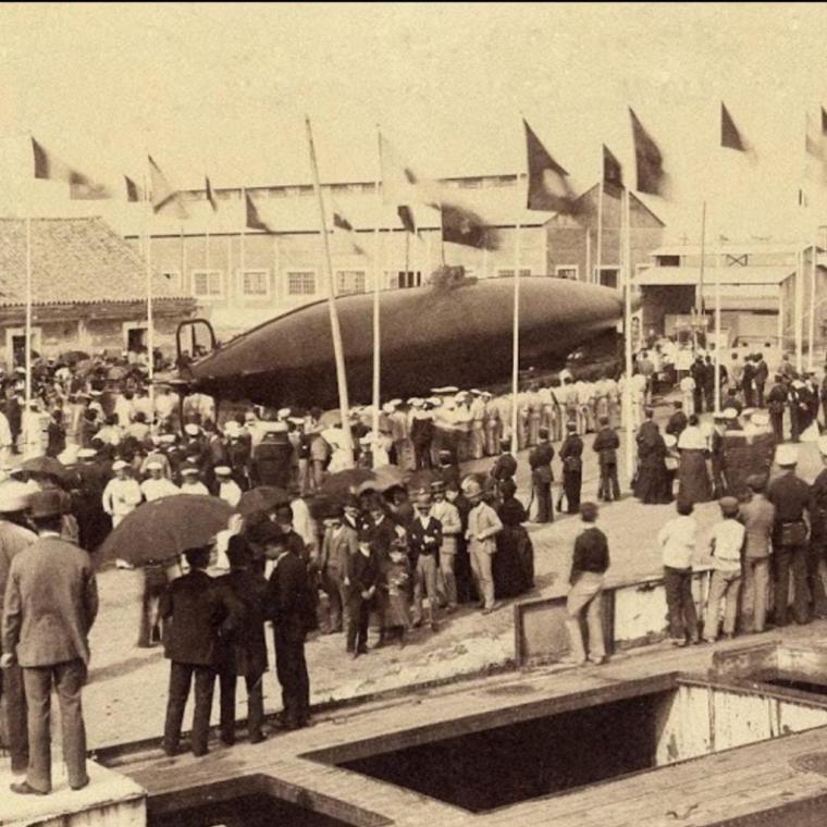 """Culturilla Naval: Se cumplen 133 años de la botadura del Submarino """"Isaac Peral"""", por Diego Quevedo Carmona, Alférez de Navío ®"""