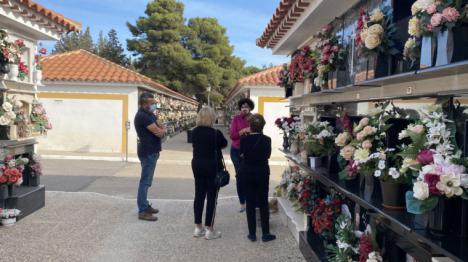 El Ayuntamiento diseña un plan de contingencia COVID-19 para el cementerio de cara a la festividad de Todos los Santos