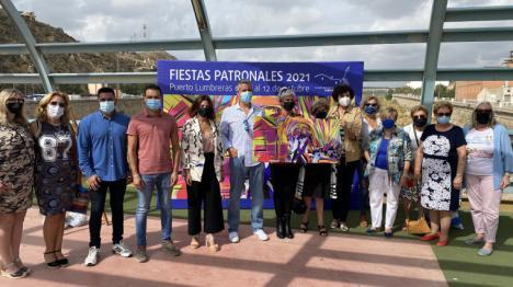 La artista lumbrerense Rosa Piernas es la autora del cartel de las Fiestas Patronales 2021