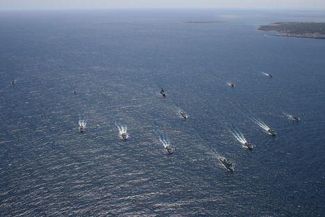 17 países y 900 efectivos participan desde hoy en aguas de Baleares en el ejercicio Spanish-Minex-19, organizado por la Armada Española.