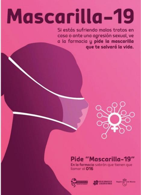 Las farmacias aguileñas se suman a la campaña Mascarilla 19 para ayudar a las posibles víctimas de violencia de género durante el confinamiento