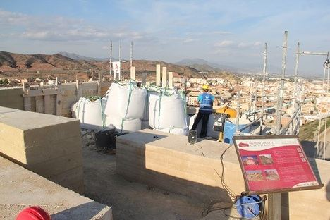 El Ayuntamiento de Puerto Lumbreras acomete las obras de la torre 3 del Castillo de Nogalte