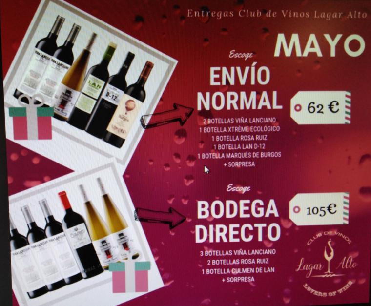 Gran acogida a Bodegas LAN que ofreció en Lagar Alto Club de Vinos, una cata de sus caldos