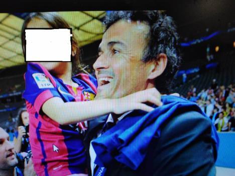 Fallece la hija de Luis Enrique por un cancer de huesos