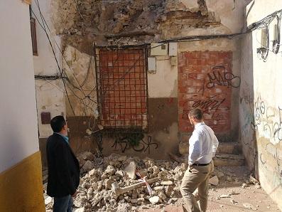 El Ayuntamiento de Lorca pone en marcha un plan de revisión de inmuebles en situación de abandono para evitar derrumbes