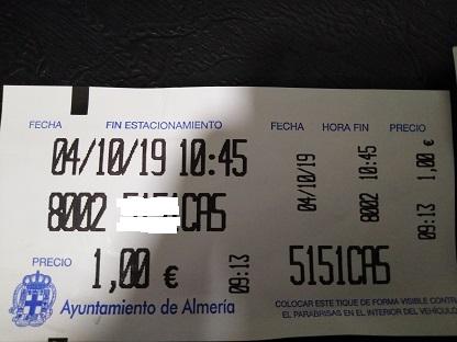 ALMERÍA: LADRONES DE 'ZONA AZUL' CON RESPALDO MUNICIPAL