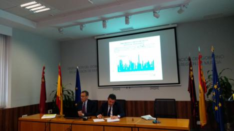 La precipitación media acumulada este año en la Región de Murcia ha sido de 425 l/m2, un 136% más del valor normal, lo que hace de 2019 el año más húmedo del siglo XXI