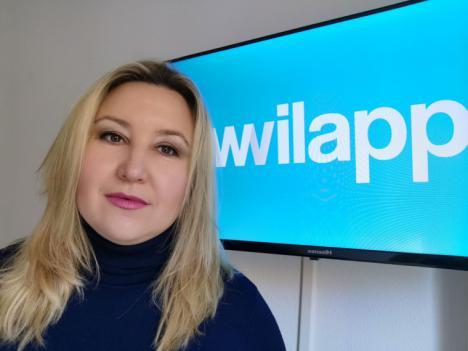 """'Wilapp', la aplicación móvil creada por la almeriense Aurora Cerdán para hacer un """"mundo más bello"""" acercando las peluquerías y centros de estética a tod@s."""