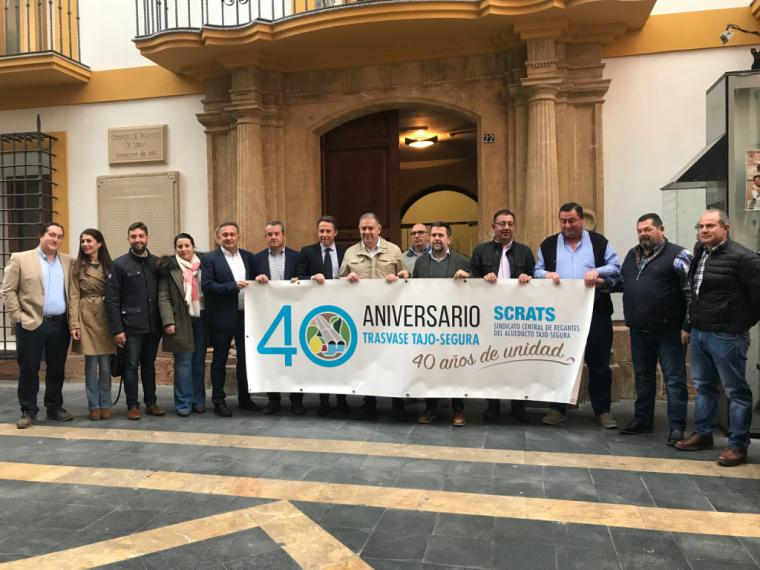 El Alcalde de Lorca defiende el Trasvase del Tajo-Segura y la interconexión con otras cuencas como el principal motor de desarrollo económico de nuestro municipio