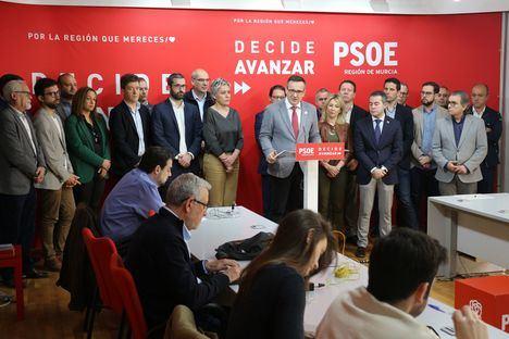 """Diego Conesa: """"El Gobierno regional miente y demuestra con sus presupuestos que no cree en el municipalismo"""""""
