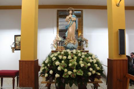 El Esparragal celebrará el próximo martes la misa en honor a su patrona; la Purísima Concepción, con todas las medidas de seguridad frente al COVID-19