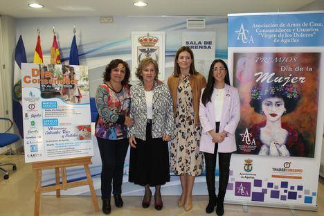 Beatriz García, Laura Rodríguez y Cáritas Parroquial de San José recibirán los Premios 8 de Marzo de la Asociación de Amas de Casa, Consumidores y Usuarios
