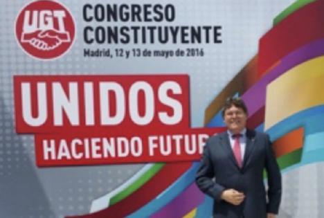 """Rogelio Mena: """"mi respaldo absoluto a Romualdo y a la Coordinadora de UGT-FICA VEIASA-ITV de Andalucía"""""""