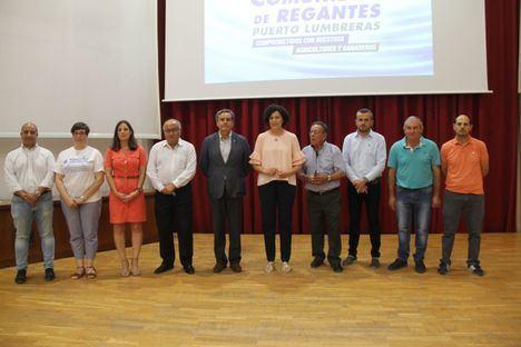 Rueda de prensa de la Comunidad de Regantes de Puerto Lumbreras para presentar las más de 3.200 firmas recogidas en defensa de nuestro sector agrícola y ganadero
