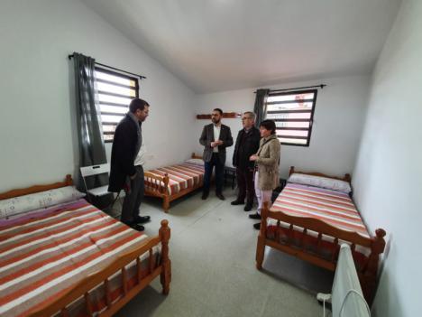 Abre sus puertas el nuevo albergue de transeúntes ubicado en un inmueble municipal de la calle Marmolico, del barrio de San Pedro