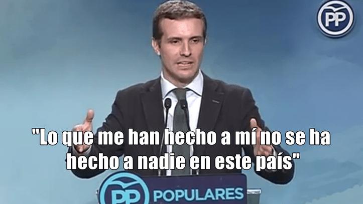 Pablo Casado no es la inocente doncella que pasaba por la Juan Carlos I
