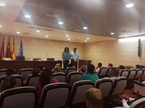 La Concejalía de Desarrollo Local lorquina pone en marcha el proyecto 'Sumamos' del que se beneficiarán alrededor de 360 desempleados en 40 itinerarios diferentes