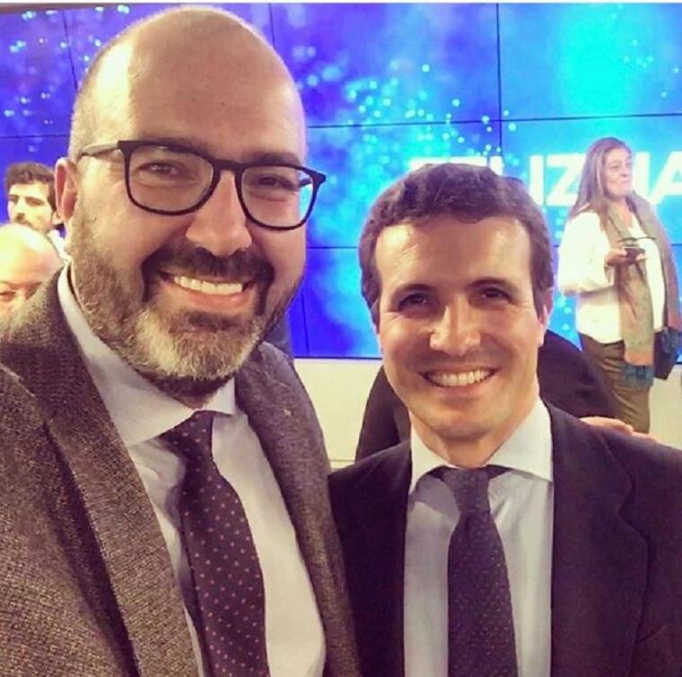 El responsable de redes sociales del Partido Popular, Ismael López Martín bloqueado por Facebook por las 'fake news' con las que intoxica la red