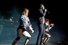 El cantautor, actor y bailarín estadounidense Jason Derulo en el festival de Cap Roig, en Palafrugell,