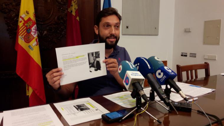 """El Partido Popular exige que se haga público de forma inmediata el contenido íntegro del """"acuerdo de gobierno"""" supuestamente redactado por PSOE y C´s en Lorca"""