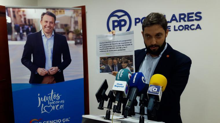 Más de 44.000 lorquinos damnificados por los terremotos pierden 7,5 millones de euros en ayudas fiscales tras cargarse Pedro Sánchez la bonificación del IBI
