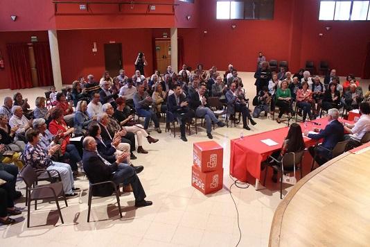 """Andrés Perelló: """"Nos estamos jugando una Europa sostenible y social y necesitamos a la ciudadanía para extender el respaldo al PSOE y hacerlo posible"""""""