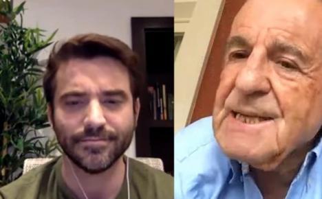 EDITORIAL: Alarma en el rostro de Javier Negre durante su programa