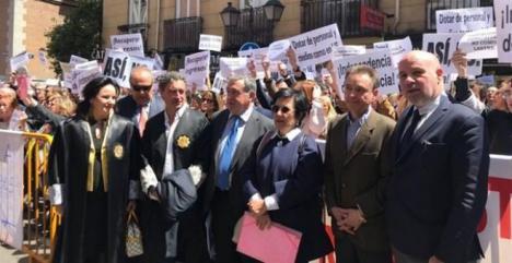 Jueces y fiscales se ponen en huelga para reivindicar la mejora en sus condiciones laborales
