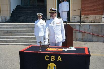 Entrega de mando del Centro de Buceo de la Armada y de la Escuela Militar de Buceo