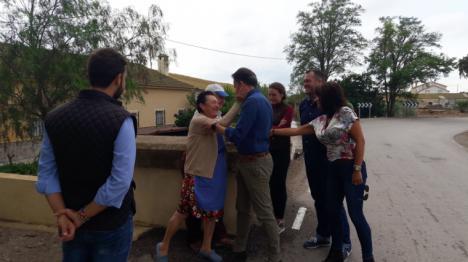 Fulgencio Gil propone la puesta en marcha de una Oficina Municipal de Atención al Damnificado para asesorar a los afectados por las lluvias y el granizo