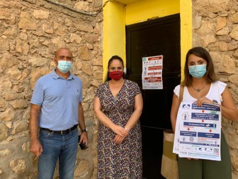 La campaña 'Lorca te cuida' estará presente en los diferentes centros educativos del municipio a través al reparto del material informativo