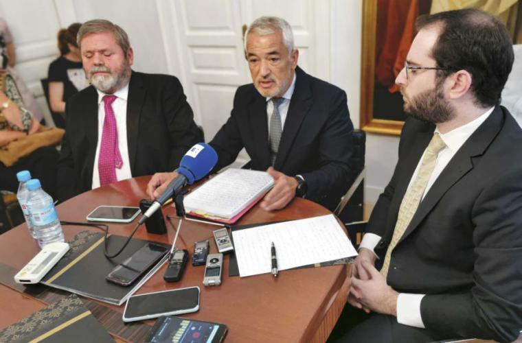 Pineda se escuda en el BBVA y en Villarejo de su situación y acusa a la fiscalía de mentir y de fabricar pruebas contra él