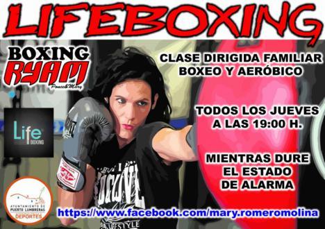 """Mari Carmen Romero impartirá una clase de """"lifeboxing"""" familiar todos los jueves a las 19:00 horas mientras dure el confinamiento"""