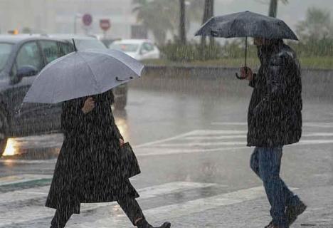 Llegan las lluvias a la península