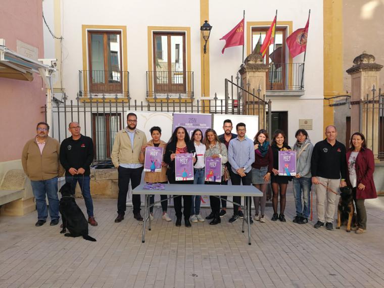 Lorca conmemora el Día Internacional de la Eliminación de la Violencia Contra la Mujer con una veintena de actividades