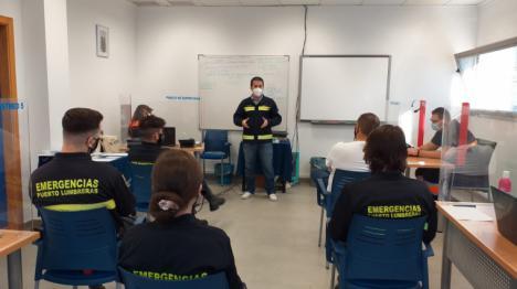 El equipo de rastreadores del Servicio de Emergencias y Protección Civil de Lorca colabora en la puesta en marcha del centro de rastreo y seguimiento de Águilas y Puerto Lumbreras