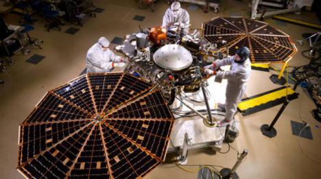La NASA, sufrirá 'siete minutos de terror' para llegar a Marte