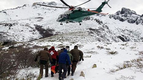 Muere un esquiador de 51 años en Candanchú cuando esquiaba fuera de pistas