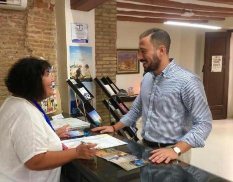 El concejal de Turismo del Ayuntamiento de Lorca, Francisco Morales ha dado a conocer, esta mañana, el programa de actividades previsto con motivo del Día Mundial del Turismo